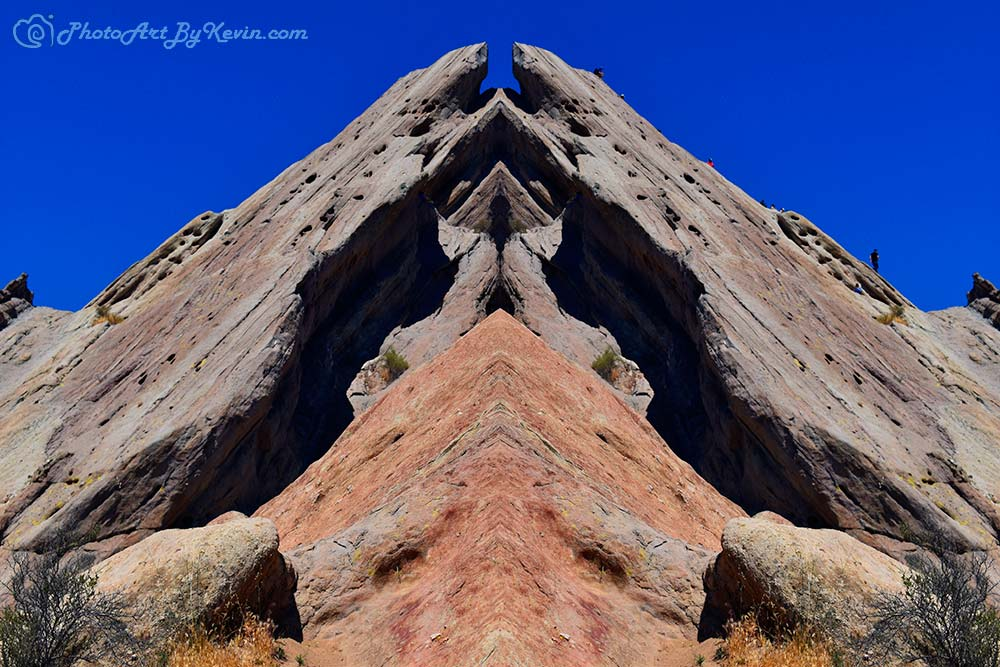 A-Frame Rock Slabs