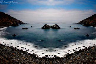 Waning Ocean in Big Sur, CA