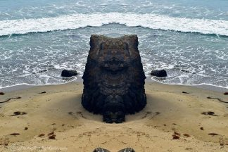 Isle of Rock in Big Sur, CA