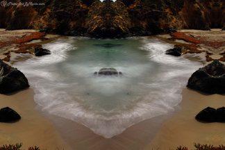 Low Tide at Big Sur, CA