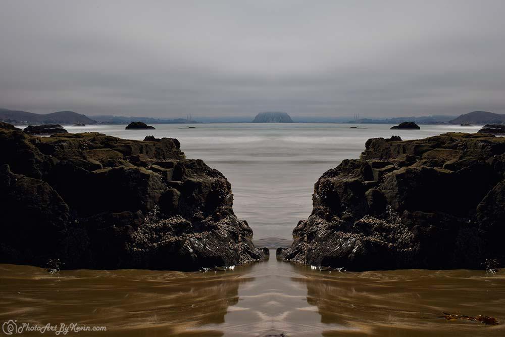 Fog Rolls In Morro Bay